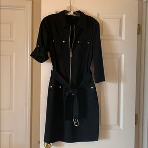 Michael Kors Black coat dress